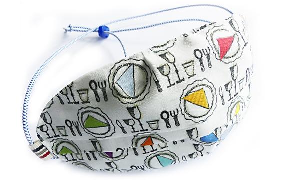 Ovaletti - Mund-Nasen-Maske / guten Appetit