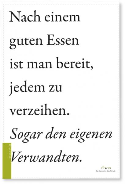 Literarisches Geschirrtuch / Oscar Wilde