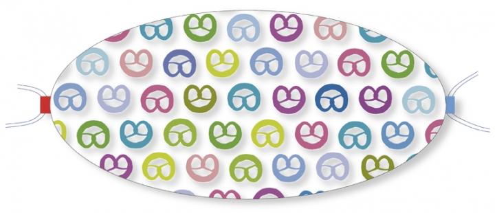 Ovaletti - Mund-Nasen-Maske / Backwahn